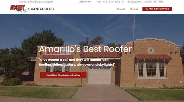 Accent Roofing Amarillo